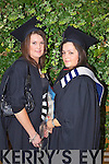 Lisa O'Brien Castlemaine and Grace O'Dowd Listowel who graduated with a Higher Certificate in Business at the Autumn graduations which took place at the Brandon hotel on Friday.