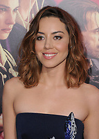 "14 June 2017 - Los Angeles, California - Aubrey Plaza. Los Angeles Premiere of ""Baby Driver"" held at the Ace Hotel Downtown in Los Angeles. Photo Credit: Birdie Thompson/AdMedia"