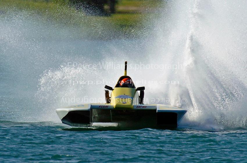 Andy Keogh, E-12 (5 Litre class hydroplane(s)