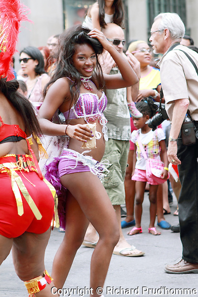 The annual Carifiesta parade in Montreal always draws a large crowd