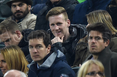 03.11.2015. Moenchengladbach, Germany, UEFA Champions League football group stages. Borussia Moenchangladbach versus Juventus.   Andre Hahn (Borussia Moenchengladbach) in the stands