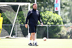 CARY, NC - JUNE 09: Nathan Thackeray. The North Carolina Courage held a training session on June 9, 2017, at WakeMed Soccer Park Field 5 in Cary, NC.