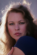 Vassouras, district of Rio de Janeiro, Brazil. 1981.  A family in Africa is besieged by a group of lions, driven mad by the drought. They have to survive multiple attacks but some of their colleagues are eaten by the lions. From the film Savage Harvest, directed by Robert E. Collins. Photo of actress Michelle Phillips.
