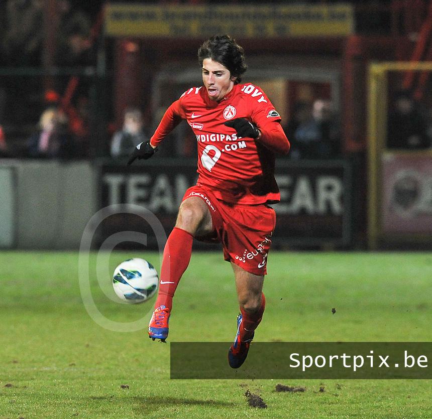 KV Kortrijk - AA Gent : Pablo Chavarria.foto VDB / BART VANDENBROUCKE
