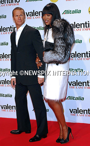 "NAOMI CAMPBELL AND BOYFRIEND VLADISLAV DORONIN.at the preview of ""Valentino The Last Emperor"", Cinema Odeon, Milan_18/11/2009.Mandatory Credit Photo: ©NEWSPIX INTERNATIONAL..**ALL FEES PAYABLE TO: ""NEWSPIX INTERNATIONAL""**..IMMEDIATE CONFIRMATION OF USAGE REQUIRED:.Newspix International, 31 Chinnery Hill, Bishop's Stortford, ENGLAND CM23 3PS.Tel:+441279 324672  ; Fax: +441279656877.Mobile:  07775681153.e-mail: info@newspixinternational.co.uk"