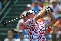 Steve Stricker (USA) tees off the 1st tee to start his match Sunday's Final Round of the 94th PGA Golf Championship at The Ocean Course, Kiawah Island, South Carolina, USA 11th August 2012 (Photo Eoin Clarke/www.golffile.ie)