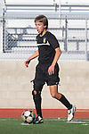 Palos Verdes, CA 02/03/12 - Chase Abelson (Peninsula #7) in action during the Peninsula vs Palos Verdes boys varsity soccer game.