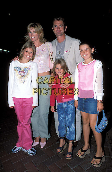 ANTHEA TURNER, GRANT BOVEY & Family, Kids.Legally Blonde 2 Film Premiere at Warner West End Cinema.www.capitalpictures.com.sales@capitalpictures.com.© Capital Pictures..full length, full-length