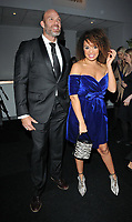 James Crossley and Pandora Christie at the Battersea Dogs &amp; Cats Home Collars &amp; Coats Gala Ball 2018, Battersea Evolution, Battersea Park, London, England, UK, on Thursday 01 November 2018.<br /> CAP/CAN<br /> &copy;CAN/Capital Pictures
