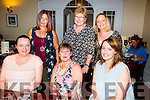 Celebration dinner at DB's at Denny Lane Bistro for Stephanie Oerton, from England who's renewing her vowels on 30th August here with family from Kerry on Friday  Pictured front l-r Emer Moriarty, Stephanie Oerton, Eibhlin Deavall Back l-r Veronica Bowling, Janet Hawton, Andrea Deavall