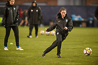 Seattle, WA - Thursday, March, 08, 2018: Rosie McShane during a preseason match between the Seattle Reign FC and University of Washington at Husky Soccer Stadium.