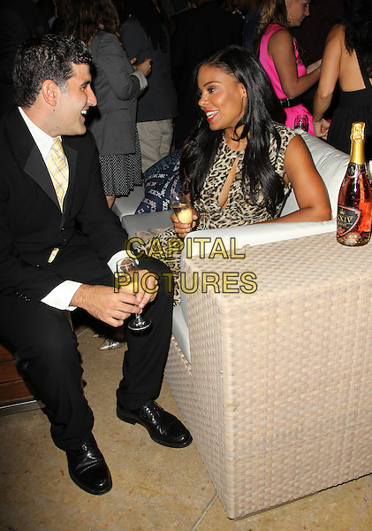 Beverly Hills, CA - October 16: Sanaa Lathan, Guest Attending The XXIV Karat Launch Party At The Beverly Hilton_Inside At The Beverly Hilton Hotel California on October 16, 2014.  <br /> CAP/MPI/RTNUPA<br /> &copy;RTNUPA/MediaPunch/Capital Pictures