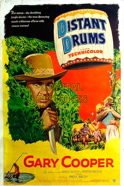 Distant Drums (1951) <br /> POSTER ART<br /> *Filmstill - Editorial Use Only*<br /> CAP/KFS<br /> Image supplied by Capital Pictures