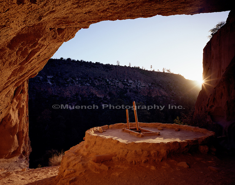 Ceremonial Cave Bandelier National Monument