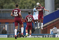 Blackburn Rovers' Amari'i Bell and Aston Villa's Keinan Davis<br /> <br /> Photographer Rachel Holborn/CameraSport<br /> <br /> The EFL Sky Bet Championship - Blackburn Rovers v Aston Villa - Saturday 15th September 2018 - Ewood Park - Blackburn<br /> <br /> World Copyright &copy; 2018 CameraSport. All rights reserved. 43 Linden Ave. Countesthorpe. Leicester. England. LE8 5PG - Tel: +44 (0) 116 277 4147 - admin@camerasport.com - www.camerasport.com