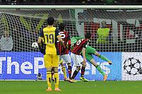 19.02.2014. Milan, Italy. Champions League football. AC Milan versus Atletico Madrid. Palo Andrea Poli