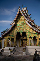 Wat Mai Pagoda at Luang Prabang,Laos