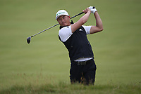 Haotong Li (CHN) during a practice round ahead of the 148th Open Championship, Royal Portrush Golf Club, Portrush, Antrim, Northern Ireland. 16/07/2019.<br /> Picture David Lloyd / Golffile.ie<br /> <br /> All photo usage must carry mandatory copyright credit (© Golffile | David Lloyd)