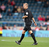 Referee Christopher Sarginson<br /> <br /> Photographer Andrew Vaughan/CameraSport<br /> <br /> The EFL Sky Bet League One - Wycombe Wanderers v Lincoln City - Saturday 7th September 2019 - Adams Park - Wycombe<br /> <br /> World Copyright © 2019 CameraSport. All rights reserved. 43 Linden Ave. Countesthorpe. Leicester. England. LE8 5PG - Tel: +44 (0) 116 277 4147 - admin@camerasport.com - www.camerasport.com