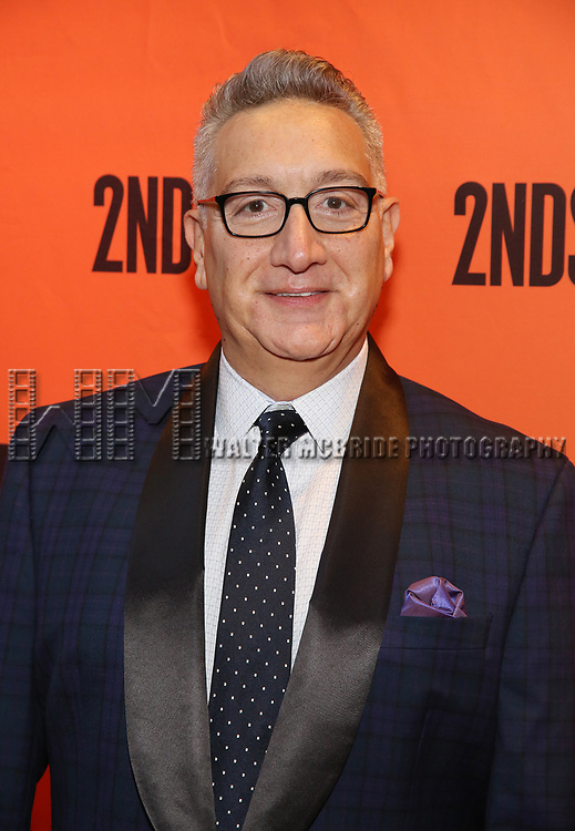Moises Kaufman attends the Off-Broadway Opening Night performance of the Second Stage Production on 'Torch Song'  on October 19, 2017 at Tony Kiser Theater in New York City.