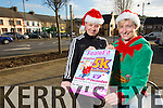 Joanne McCarthy and Kadie Colbert launching the Feale Fit Festive 5K Run and Walk on Sunday 7th December at 10.30 in association  with Feale Fit Mountmahon Abbyfeale