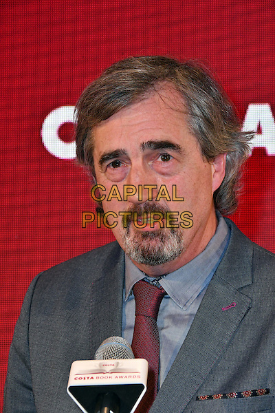 Sebastian Barry, winner of Costa Book Of The Year Award 2016 <br /> Costa Book Of The Year Award 2016, at Quaglino&rsquo;s, London, England on January 31, 2017.<br /> CAP/JOR<br /> &copy;JOR/Capital Pictures
