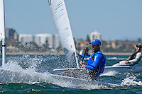 Laser/ Tonci STIPANOVIC (CRO)<br /> ISAF Sailing World Cup Final - Melbourne<br /> St Kilda sailing precinct, Victoria<br /> Port Phillip Bay Wednesday 7 Dec 2016<br /> &copy; Sport the library / Jeff Crow