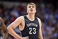 Washington, DC - MAR 11, 2018: Davidson Wildcats forward Peyton Aldridge (23) during the Atlantic 10 men's basketball championship between Davidson and Rhode Island at the Capital One Arena in Washington, DC. (Photo by Phil Peters/Media Images International)
