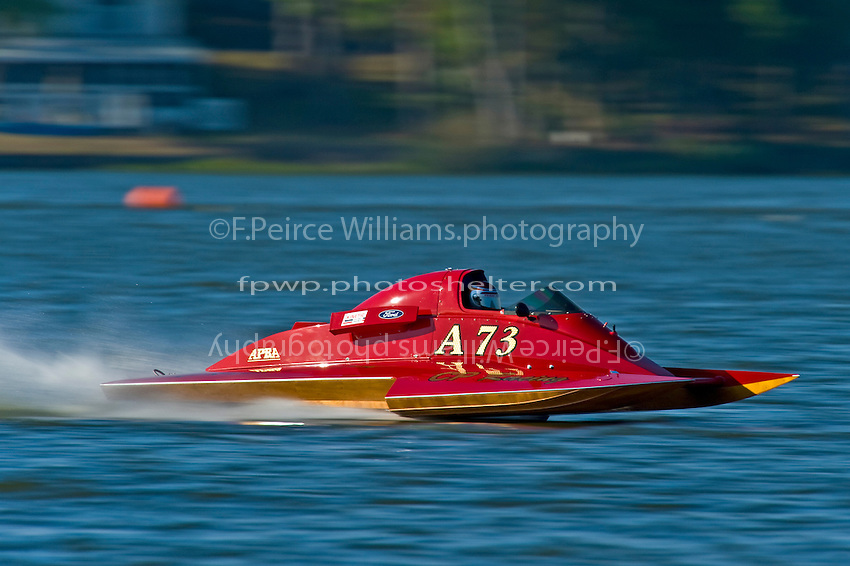 "Shaun Cassidy, A-73 ""CP Racing"", 2.5 Mod class hydroplane"
