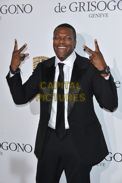 CAP D'ANTIBES, FRANCE - MAY 20:  Chris Tucker attend the De Grisogono dinner party, in collaboration with Gyunel during Cannes film festival at Hotel du Cap-Eden-Roc on May 20, 2014 in Cap d'Antibes, France.<br /> CAP/PL<br /> &copy;Phil Loftus/Capital Pictures