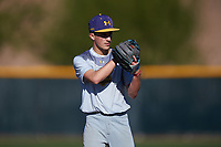 Tyler Henrich during the Under Armour All-America Tournament powered by Baseball Factory on January 19, 2020 at Sloan Park in Mesa, Arizona.  (Zachary Lucy/Four Seam Images)