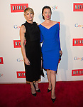 WASHINGTON, DC - MAY 2: Robin Wright and Molly Parker attending the Google and Netflix party to celebrate White House Correspondents' Dinner on May 2, 2014 in Washington, DC. Photo Credit: Morris Melvin / Retna Ltd.