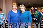 Reena O'Keeffe and Ellen Murphy enjoying the Sliabh Luachra Active Retired Network Tea Dance in An Riocht Castleisland on Sunday