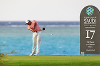 Jonathan Vegas (USA) on the 17th tee during the 1st round of  the Saudi International powered by Softbank Investment Advisers, Royal Greens G&CC, King Abdullah Economic City,  Saudi Arabia. 30/01/2020<br /> Picture: Golffile | Fran Caffrey<br /> <br /> <br /> All photo usage must carry mandatory copyright credit (© Golffile | Fran Caffrey)