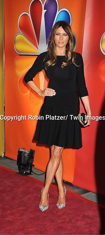 Melania Trump attends the NBC Upfront Presentation of 2012-2013 Season at Radio City Music Hall on May 14, 2012 in New York City.