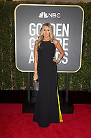 Tiziana Rocca arrives at the 75th Annual Golden Globe Awards at the Beverly Hilton in Beverly Hills, CA on Sunday, January 7, 2018.<br /> *Editorial Use Only*<br /> CAP/PLF/HFPA<br /> &copy;HFPA/Capital Pictures