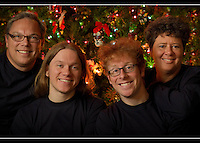 The Hunt Family at our house in Bremerton, Washington on Saturday, Dec. 18, 2010.