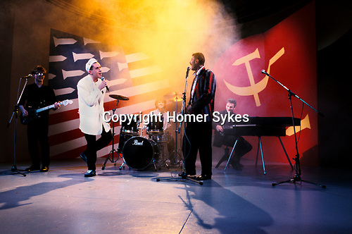 FRANKIE GOES TO HOLLYWOOD PERFORMING A SONG,