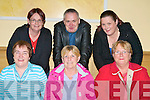 SUPER BINGO: Enjoying a great time at the John Mitchels Super Bingo at the Brandon Hotel on Friday seated l-r: Patsy O'Shea, Angela Walsh and Helen Rowan. Back l-r: Melissa Leahy, Hawley Walsh and Jacinta Rowan.
