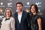 Luisa Gavasa and Arturo Valls attends red carpet of Feroz Awards 2018 at Magarinos Complex in Madrid, Spain. January 22, 2018. (ALTERPHOTOS/Borja B.Hojas)