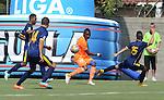 En compromiso de la quinta fecha del Torneo Apertura Colombiano 2015. Envigado FC venció 2 – 0 a Uniautónoma en compromiso disputado en el Polideportivo Sur del municipio antioqueño.