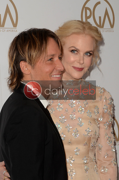 Keith Urban, Nicole Kidman<br /> at the 2017 Producers Guild Awards, Beverly Hilton Hotel, Beverly Hills, CA 01-28-17<br /> David Edwards/DailyCeleb.com 818-249-4998