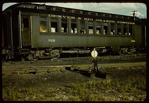 Passenger coach #312.<br /> D&amp;RGW