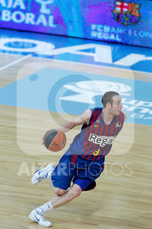 FC Barcelona Regal's Marcelinho Huertas during Supercopa ACB Semifinal match.September 30,2011. (ALTERPHOTOS/Acero)