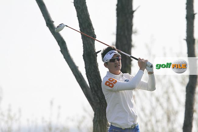 Kim Hyung-sung (KOR) on Day 2 of the Ballantines Championship 2012 at Blackstone Golf Course, Icheon, Korea...(Photo Jenny Matthews/www.golffile.ie)