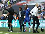 Antonio Conte manager of Chelsea reacts during the Emirates FA Cup Final match at Wembley Stadium, London. Picture date: May 27th, 2017.Picture credit should read: David Klein/Sportimage