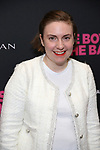 Lena Dunham attends 'The Boys in the Band' 50th Anniversary Celebration at The Booth Theatre on May 30, 2018 in New York City.