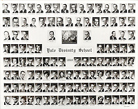 1969 Yale Divinity School Senior Portrait Class Group Photograph