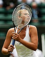28-6-06,England, London, Wimbledon, first round match, Maria Sharapova