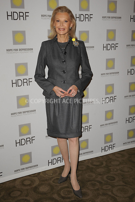 WWW.ACEPIXS.COM . . . . . ....November 16 2009, New York city....HDRF Founder and Chairman, Audrey Gruss at the 'Hope for Depression Research Foundation Seminar' at the Time Warner Center on November 16, 2009 in New York City.....Please byline: KRISTIN CALLAHAN - ACEPIXS.COM.. . . . . . ..Ace Pictures, Inc:  ..tel: (212) 243 8787 or (646) 769 0430..e-mail: info@acepixs.com..web: http://www.acepixs.com